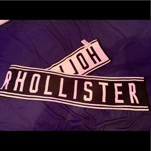 Knit Hollister scarf